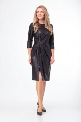 Платье Anelli 785 черный
