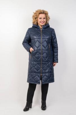 Пальто TrikoTex Stil М28-19 синий