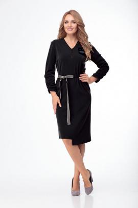 Платье Anelli 777 черный