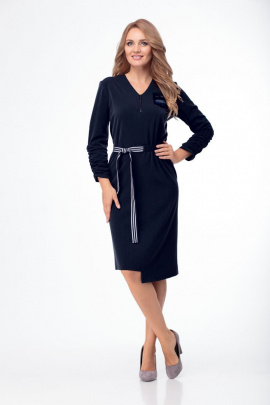 Платье Anelli 777 синий