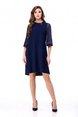 Платье Мишель стиль 736 синий