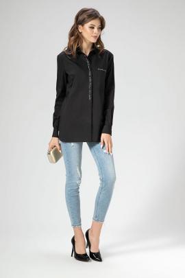 Блуза Панда 436040 черный
