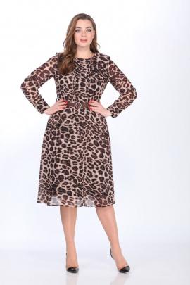 Платье ELLETTO 1734 леопард