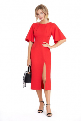 Платье PiRS 897 красный
