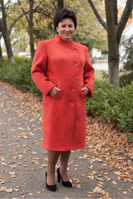Пальто Classic Moda 545 терракот