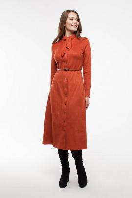 Платье Madech 195339 терракотовый