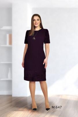 Платье Fortuna. Шан-Жан 647 баклажан