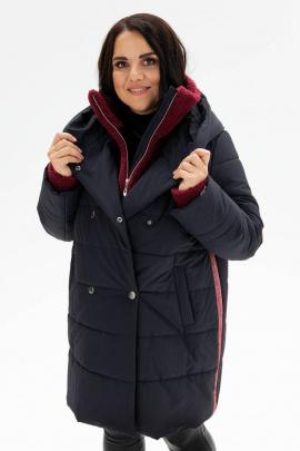 Пальто Bugalux 416 170-синий