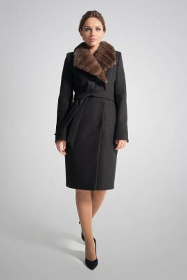 Пальто Gotti 117-28м коричневый