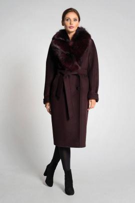 Пальто Gotti 175-9м бордовый