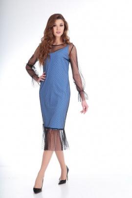 Платье Ксения Стиль 1732 голубой