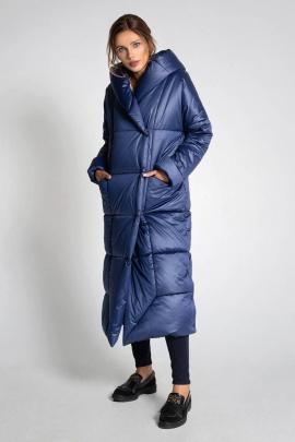 Пальто Gotti 410-1у синий