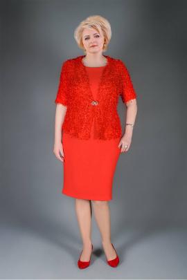 Жакет, Платье Manklover 915 красный