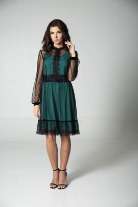 Платье MAX 765 изумруд