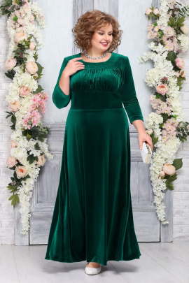 Платье Ninele 5754 изумруд