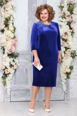 Платье Ninele 5757 василек