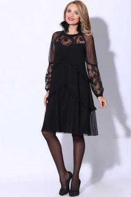 Платье LeNata 11079 черный