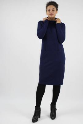 Платье VLADOR 500239 темно-синий