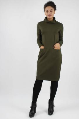 Платье VLADOR 500239 хаки