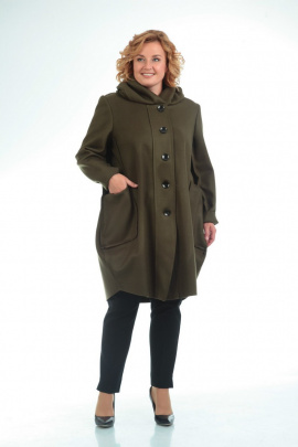 Пальто Pretty 485 хаки