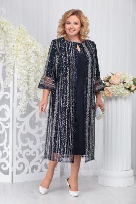 Кардиган, Платье Ninele 5730 темно-синий