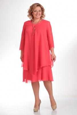 Платье Pretty 242  коралл