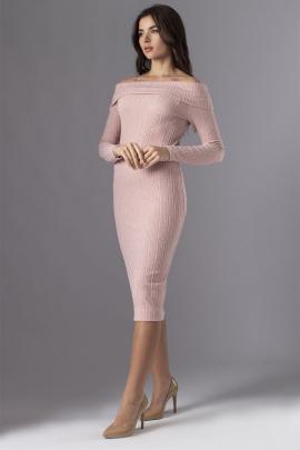 Платье VIZAVI 576 пудра