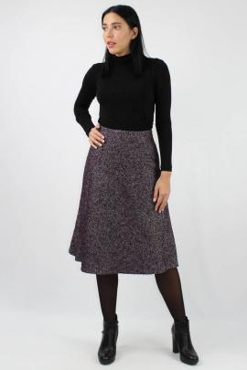 Юбка VLADOR 500117-2 фиолетовый