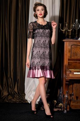 Платье Barbara Geratti by Elma 2721 черный/розовый