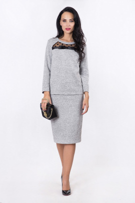 Комплект Daloria 9036 серый