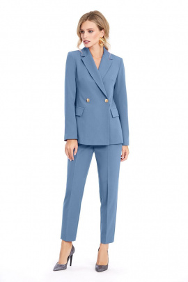 Женский костюм PiRS 916 голубой