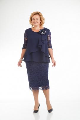 Платье Pretty 587 т.синий
