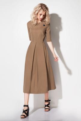 Платье Prio 197580 бежевый