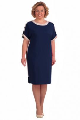Платье Линия Л Б-1557 синий