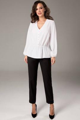 Блуза Teffi Style L-1468 молочный