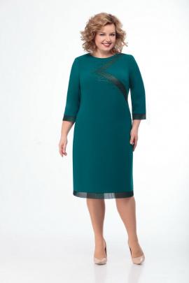 Платье Мишель стиль 833 изумруд