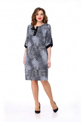 Платье Мишель стиль 834 голубой