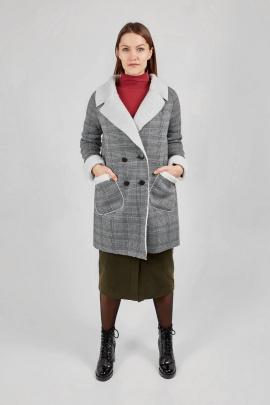 Пальто Legend Style G-010 серый