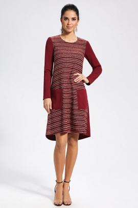 Платье AYZE 11-95 бордо