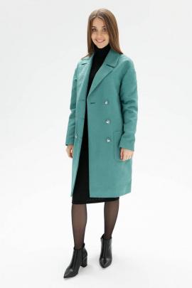 Пальто Bugalux 431 164-зеленый