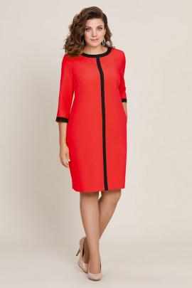 Платье Магия Стиля М-5802 красный