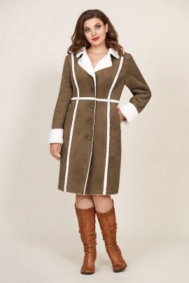 Пальто Магия Стиля М-2505 хаки