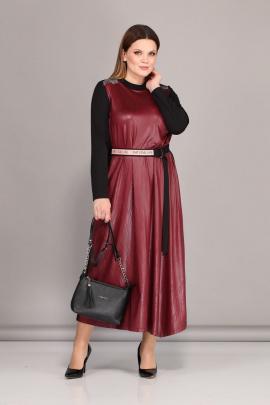 Платье Lady Secret 3629 красный+черный