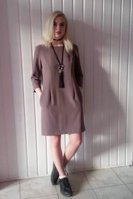Платье Shymoda 4716 светло-коричневый