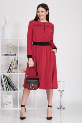 Платье Ивелта плюс 1674 красный