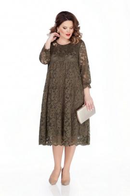 Платье TEZA 304 хаки