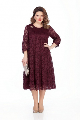 Платье TEZA 304 бордо