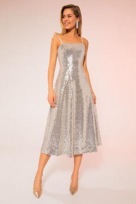Платье LaVeLa L10071 золотой