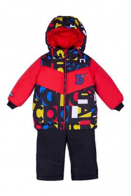 Куртка,Полукомбинезон Bell Bimbo 193021 красный/набивка