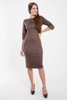Платье Madech 185271 серо-коричневый